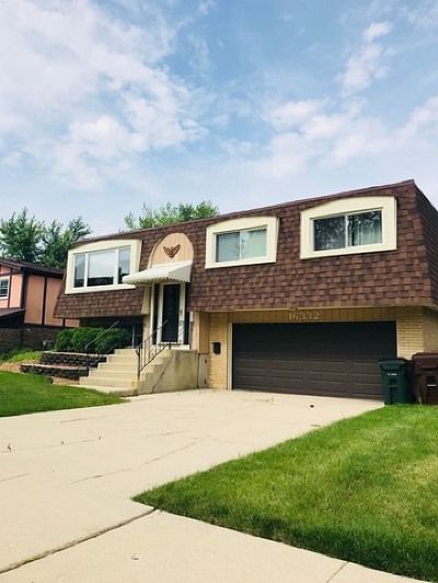 Tinley Park Single Family Home New: 16332 67th Court