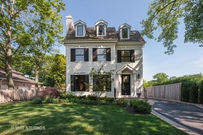 Winnetka Single Family Home New: 1127 Laurel Avenue