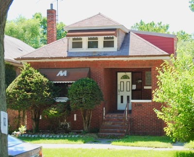 Single Family Home New: 8346 South Phillips Avenue