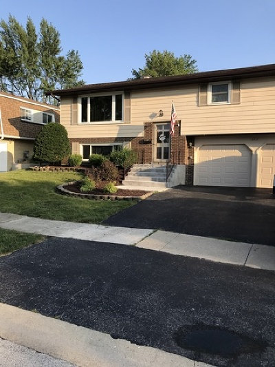 Tinley Park Single Family Home New: 6337 Carlsbad Drive