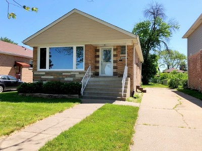 Evergreen Park Single Family Home New: 8929 South Albany Avenue