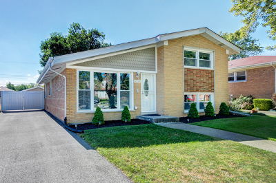 Oak Lawn Single Family Home For Sale: 9224 Parkside Avenue