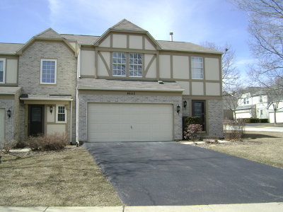 Hoffman Estates Condo/Townhouse New: 4660 Burnham Drive