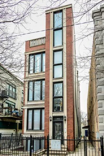 Chicago Condo/Townhouse New: 852 North Paulina Street #2