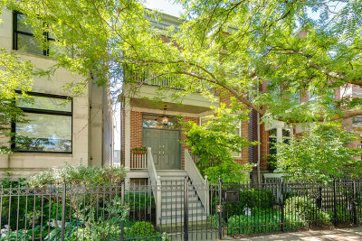 Single Family Home For Sale: 1517 West Altgeld Street
