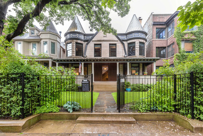 Chicago Single Family Home New: 4151 North Greenview Avenue