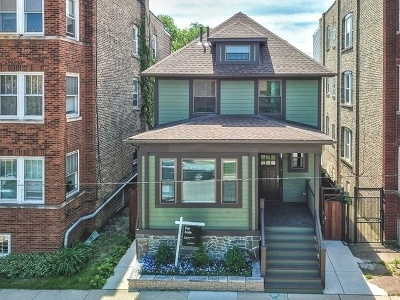 Chicago Single Family Home New: 3027 West Leland Avenue