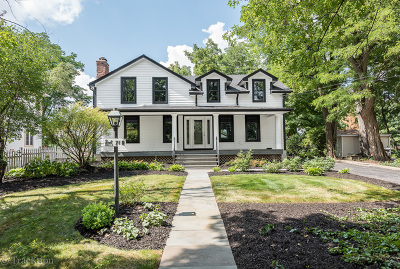 Downers Grove Single Family Home For Sale: 710 Maple Avenue