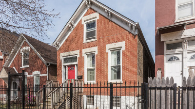 Chicago Single Family Home New: 847 North Francisco Avenue