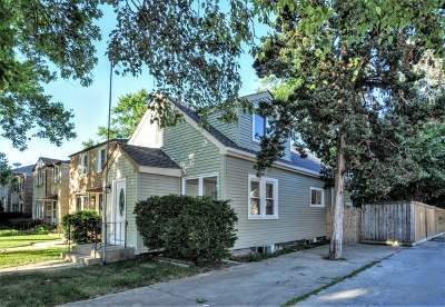 Chicago Single Family Home New: 3217 North Octavia Avenue