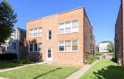 Skokie Multi Family Home For Sale: 8939 Bronx Avenue