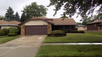 Matteson Single Family Home For Sale: 4232 Cedarwood Lane