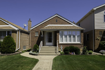 Chicago Single Family Home New: 6017 South McVicker Avenue