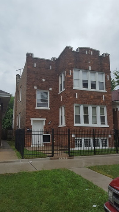 Chicago Multi Family Home New: 6349 South Maplewood Avenue