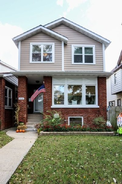 Chicago Single Family Home New: 4535 North Lowell Avenue