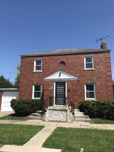 Chicago Single Family Home New: 6625 South Spaulding Avenue