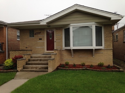Chicago Single Family Home New: 6822 West 64th Place