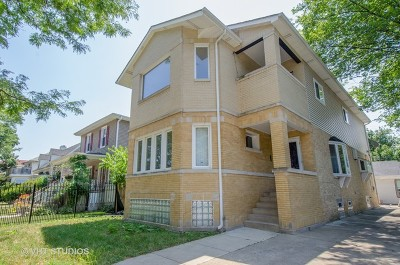 Chicago Single Family Home New: 5257 West Windsor Avenue