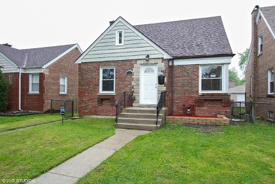 Chicago Single Family Home New: 3836 West 86th Place