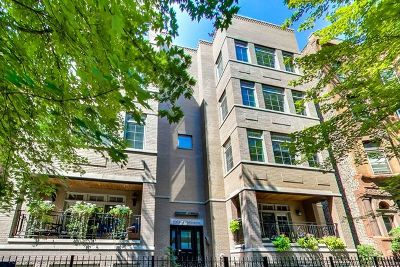 Condo/Townhouse For Sale: 632 West Wellington Avenue #1W