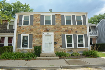 Hoffman Estates Condo/Townhouse New: 1834 Grantham Place