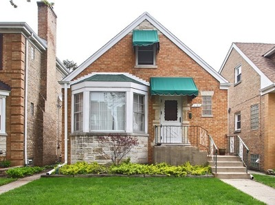 Chicago Single Family Home New: 6137 North Moody Avenue