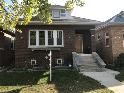 Chicago IL Single Family Home New: $288,000