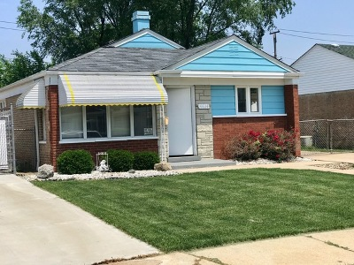 Chicago Single Family Home New: 4634 West 82nd Place