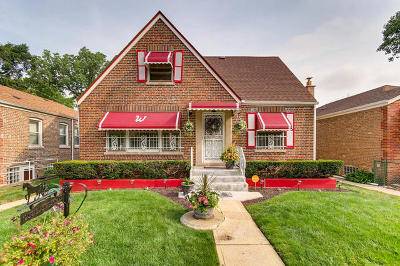 Chicago Single Family Home Re-Activated: 1252 East 95th Place