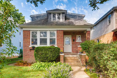 Evanston IL Single Family Home Re-Activated: $296,900