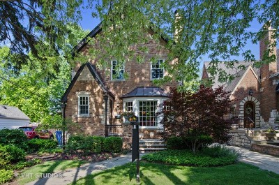 Chicago Single Family Home New: 5957 North Knox Avenue