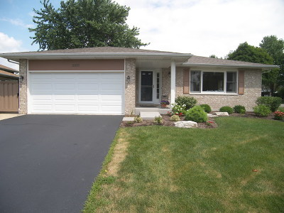 West Chicago Single Family Home For Sale: 2105 Mulberry Drive