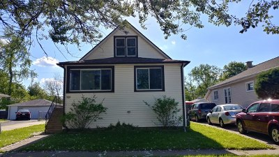Steger Single Family Home New: 3620 Emerald Avenue