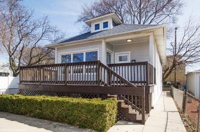 Chicago Single Family Home New: 3421 North Narragansett Avenue