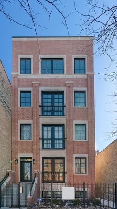 Condo/Townhouse For Sale: 3607 North Damen Avenue #PH