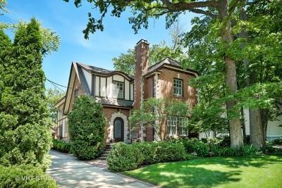 Winnetka Single Family Home For Sale: 1049 Chatfield Road
