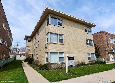 Multi Family Home For Sale: 6044 North Mozart Street