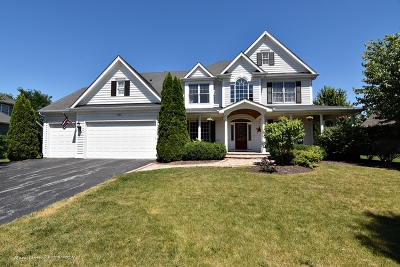 Geneva Single Family Home For Sale: 3411 Wild Prairie Lane