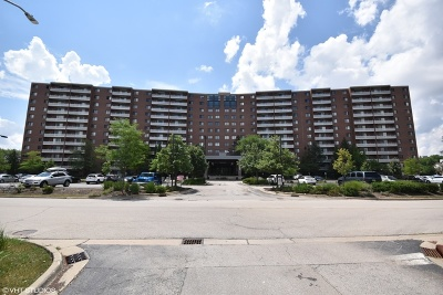 Schaumburg Condo/Townhouse For Sale: 21 Kristin Drive #807