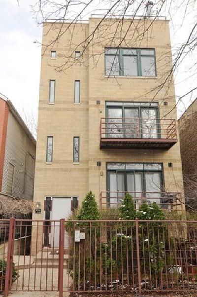 Condo/Townhouse For Sale: 1659 North Oakley Avenue #3