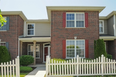 Tinley Park Condo/Townhouse Contingent: 6572 Pine Lake Drive