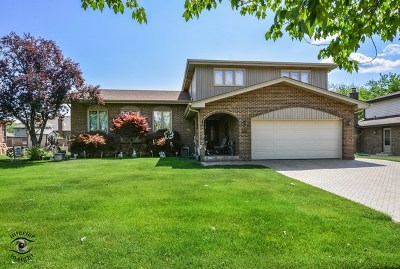 Orland Park Single Family Home Price Change: 13535 Inverness Drive