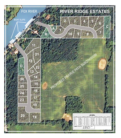 Algonquin Residential Lots & Land Price Change: 1841 North River Road