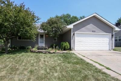 Marengo Single Family Home For Sale: 609 Eisenhower Street