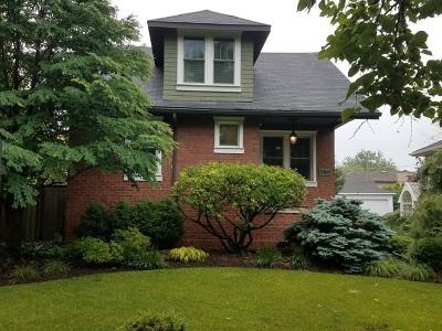 Western Springs Single Family Home For Sale: 3909 Garden Avenue