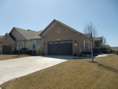 Frankfort Condo/Townhouse For Sale: 9127 Holland Harbor Circle