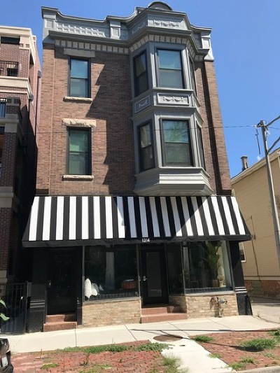 Multi Family Home For Sale: 1314 West Wrightwood Avenue