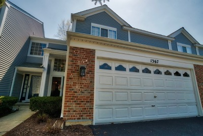 Bartlett Condo/Townhouse For Sale: 1367 Spaulding Road