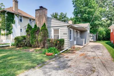 Highland Park Single Family Home Price Change: 889 Burton Avenue