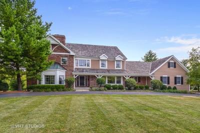 Barrington Hills Single Family Home For Sale: 11 Creekside Lane